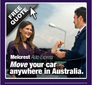 Move your car anywhere in Australia