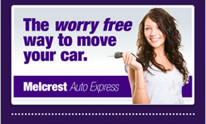 The worry free way to move your car is with Melcrest